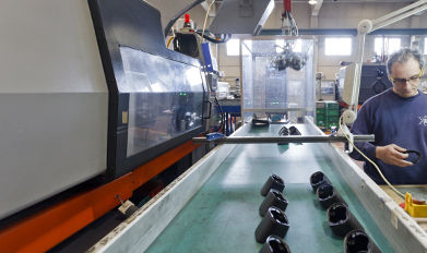 Ubiplast production machinery